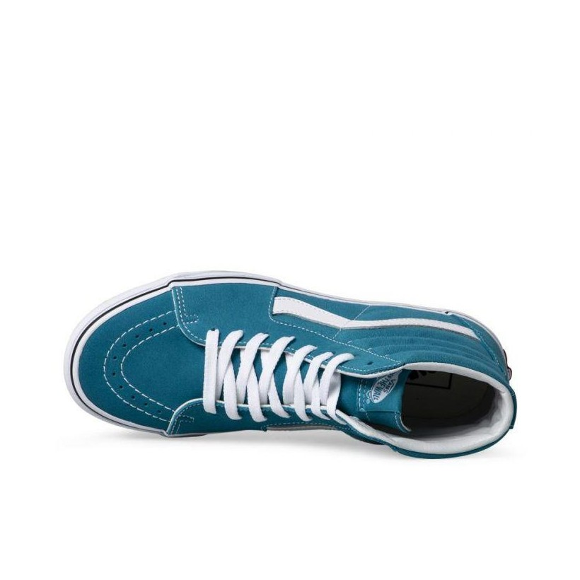 Enamel Blue/True White - Sk8-Hi Sale Shoes by Vans