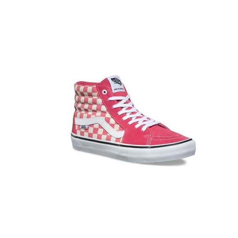 (Checkerboard) Desert Rose - Sk8-Hi Pro Sale Shoes by Vans