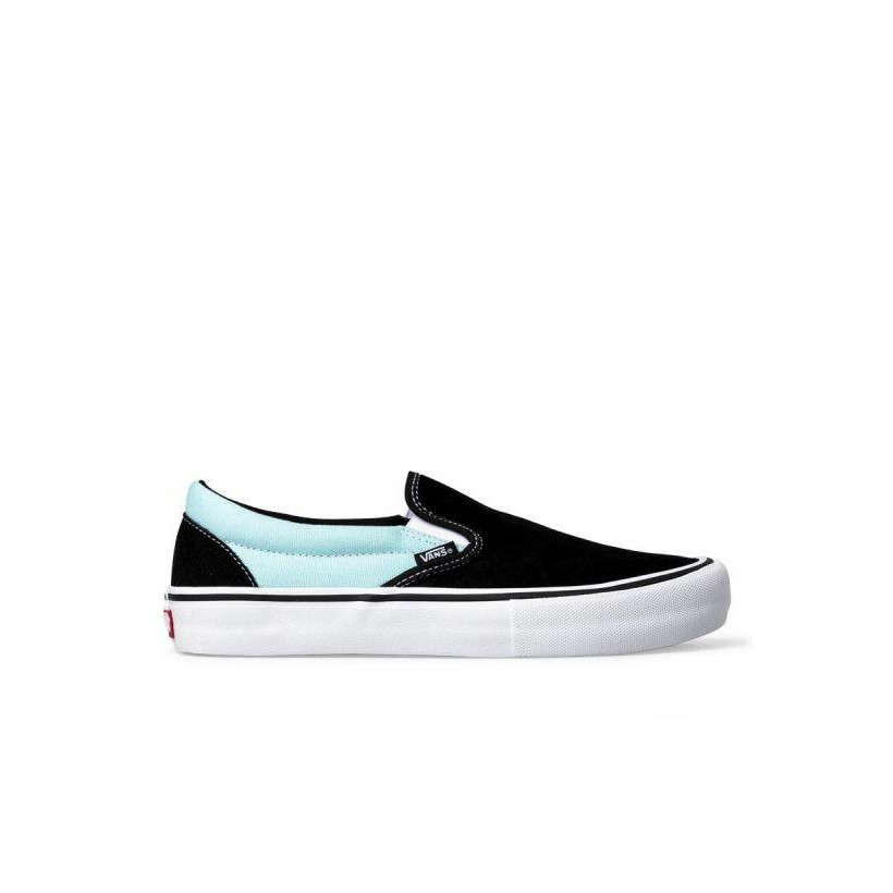 (Asymmetry) Black/Blue/Rose - Slip-On Pro Sale Shoes by Vans
