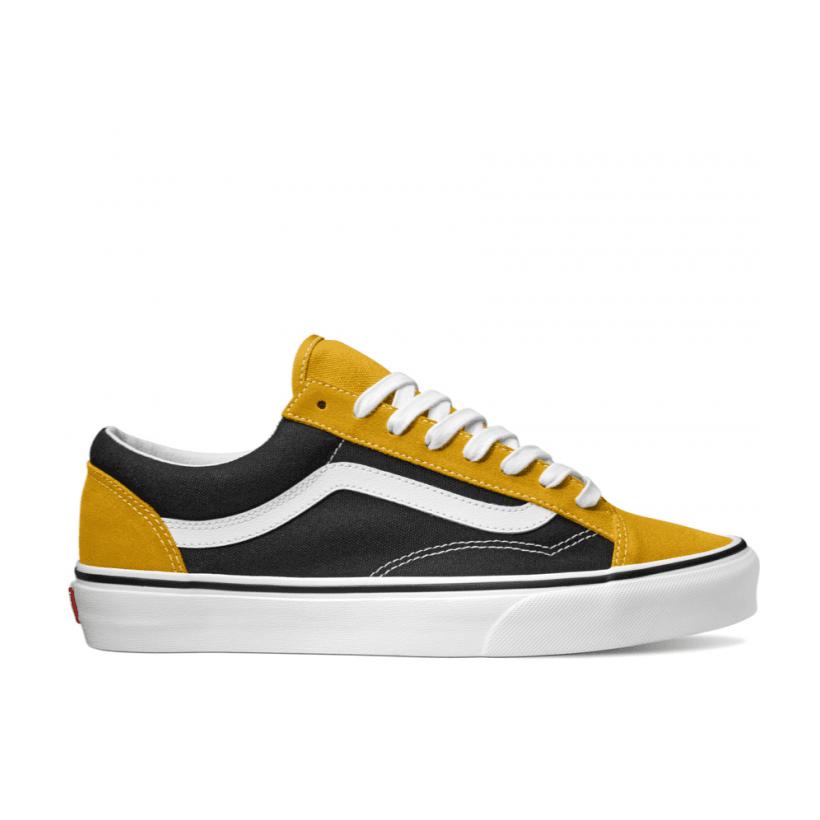 (Vintage Suede) Mango Mojito/Black - STYLE 36 VINTAGE SUEDE MANGO MOJITO Sale Shoes by Vans