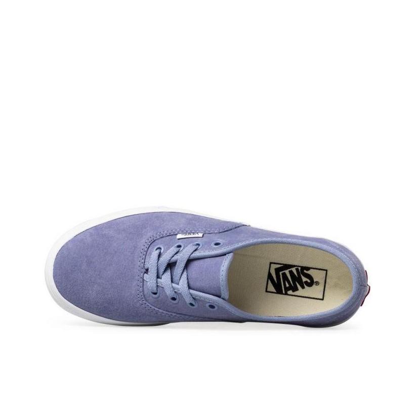 (Pig Suede) Lavender Lustre/True White - Suede Authentic Platform 2.0 Sale Shoes by Vans