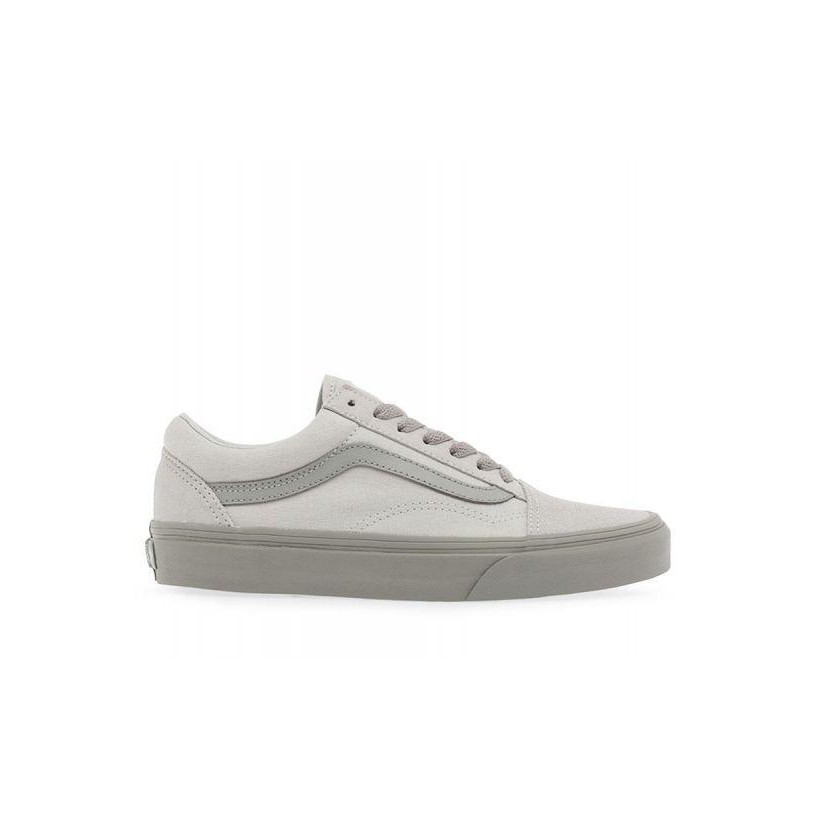 (2-Tone) Glacier Gray/Drizzle - Two-Tone Old Skool Glacier Sale Shoes by Vans