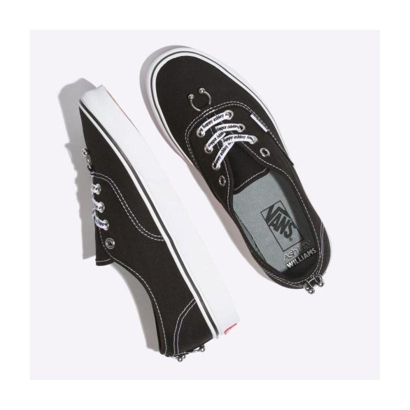 (Ashley Williams) Piercings/True White - Vans x Ashley Williams Authentic Sale Shoes by Vans