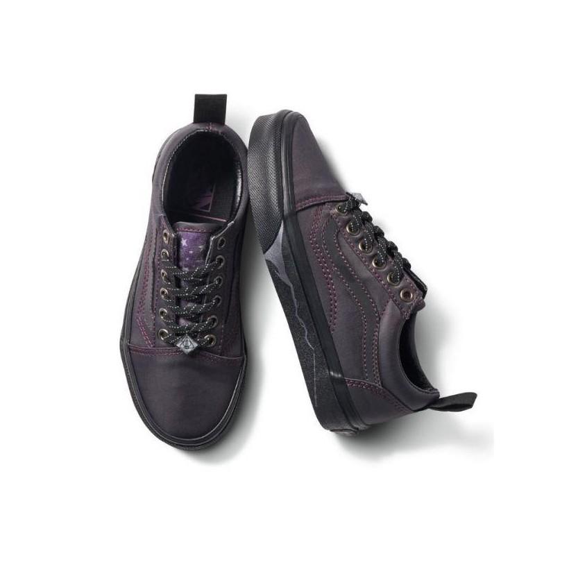 (Harry Potter) Deathly Hallows/Black - Vans X Harry Potter Kids Old Skool Deathly Hallows Sale Shoes by Vans