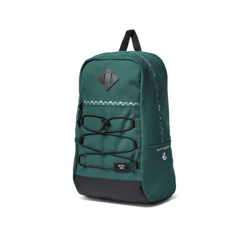 (Harry Potter) Slytherin - Vans X Harry Potter Snag Backpack Slytherin Sale Shoes by Vans