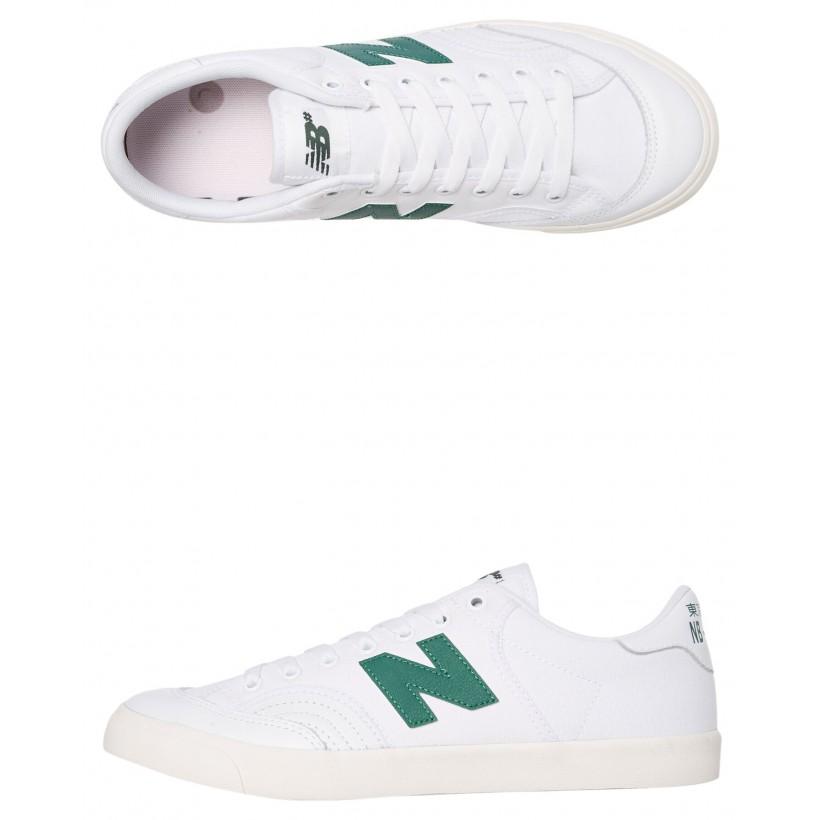 212 Mens Shoe White Green