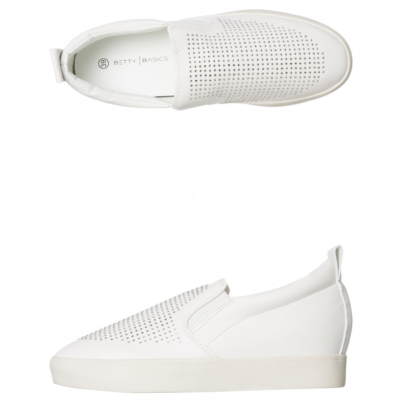 Womens Liberty Shoe White By BETTY BASICS