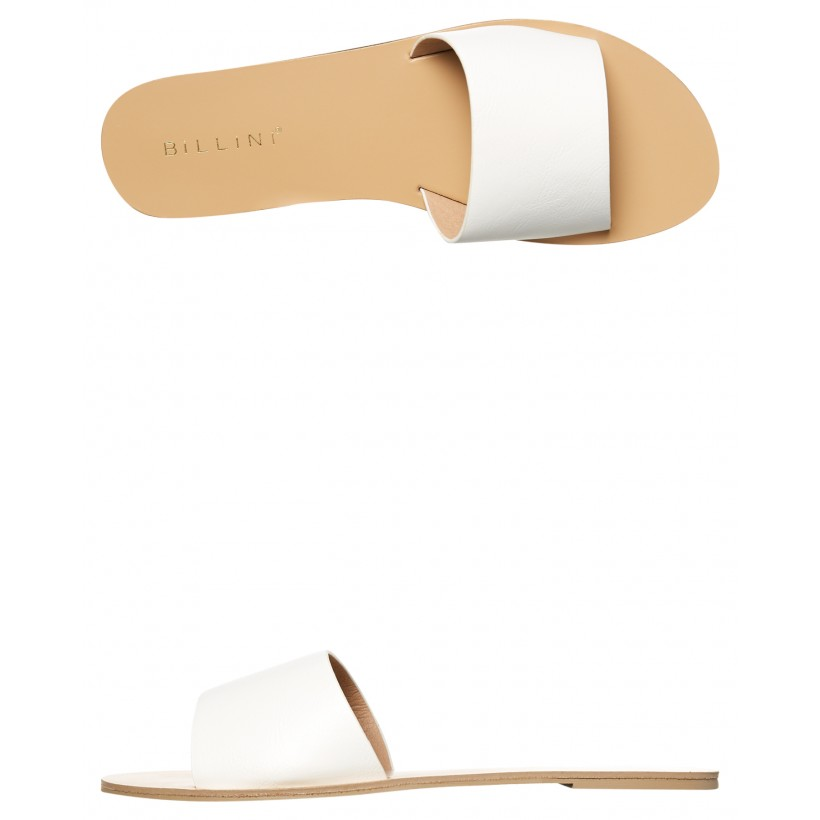 Womens Crete Slide White By BILLINI