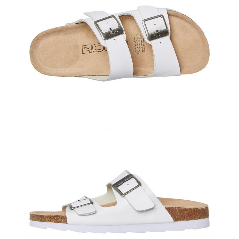 Womens Bermuda Sandal White By ROC BOOTS AUSTRALIA