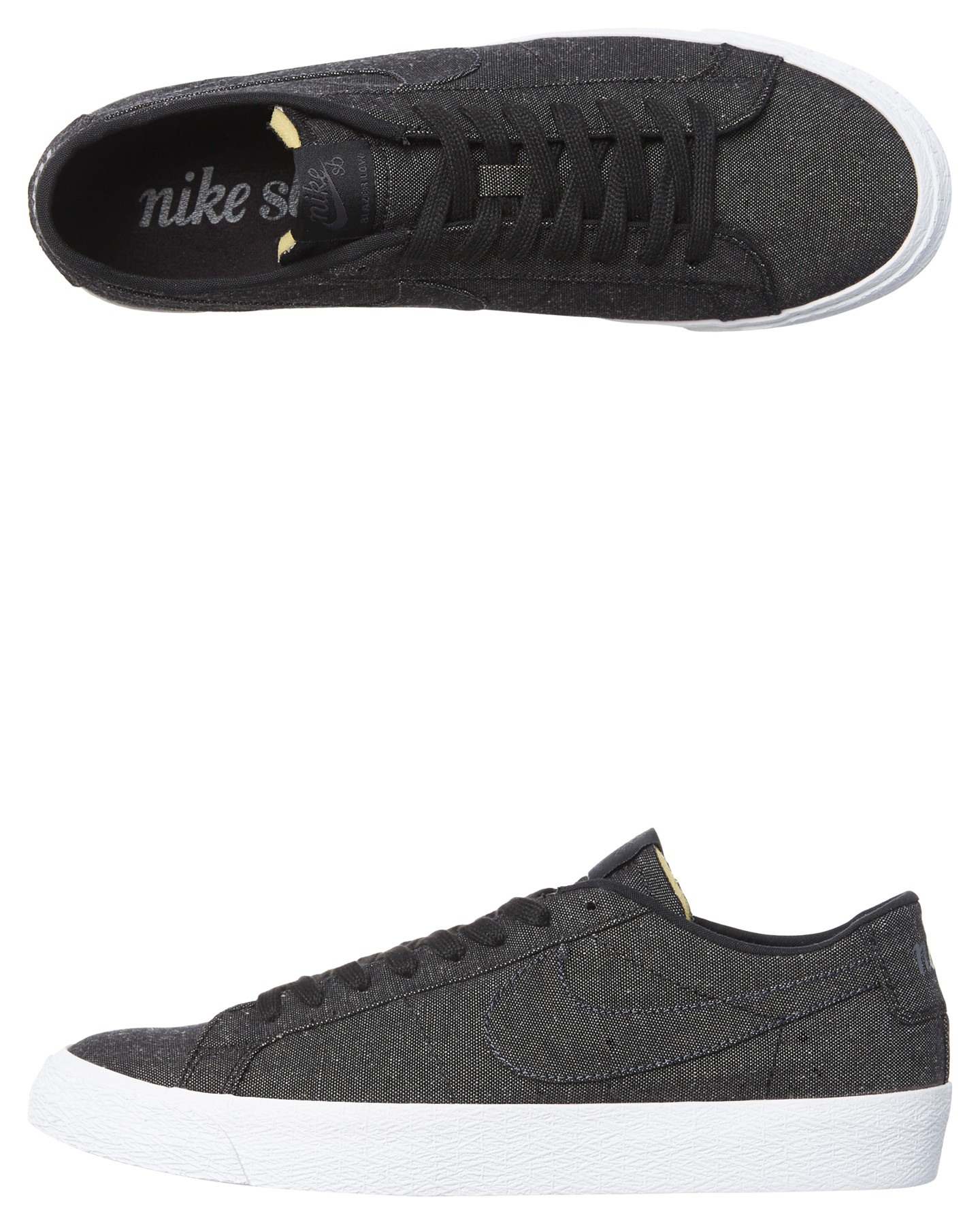 best website 48c2e 8b412 Black Anthracite Coloured Mens Sb Zoom Blazer Low Decon Shoe Black  Anthracite By NIKE   ShoeSales