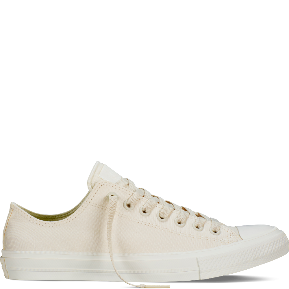 f495dd63653b5 Parchment Navy White Chuck Taylor All Star II Low Top Parchment Mens Shoes  Sneakers