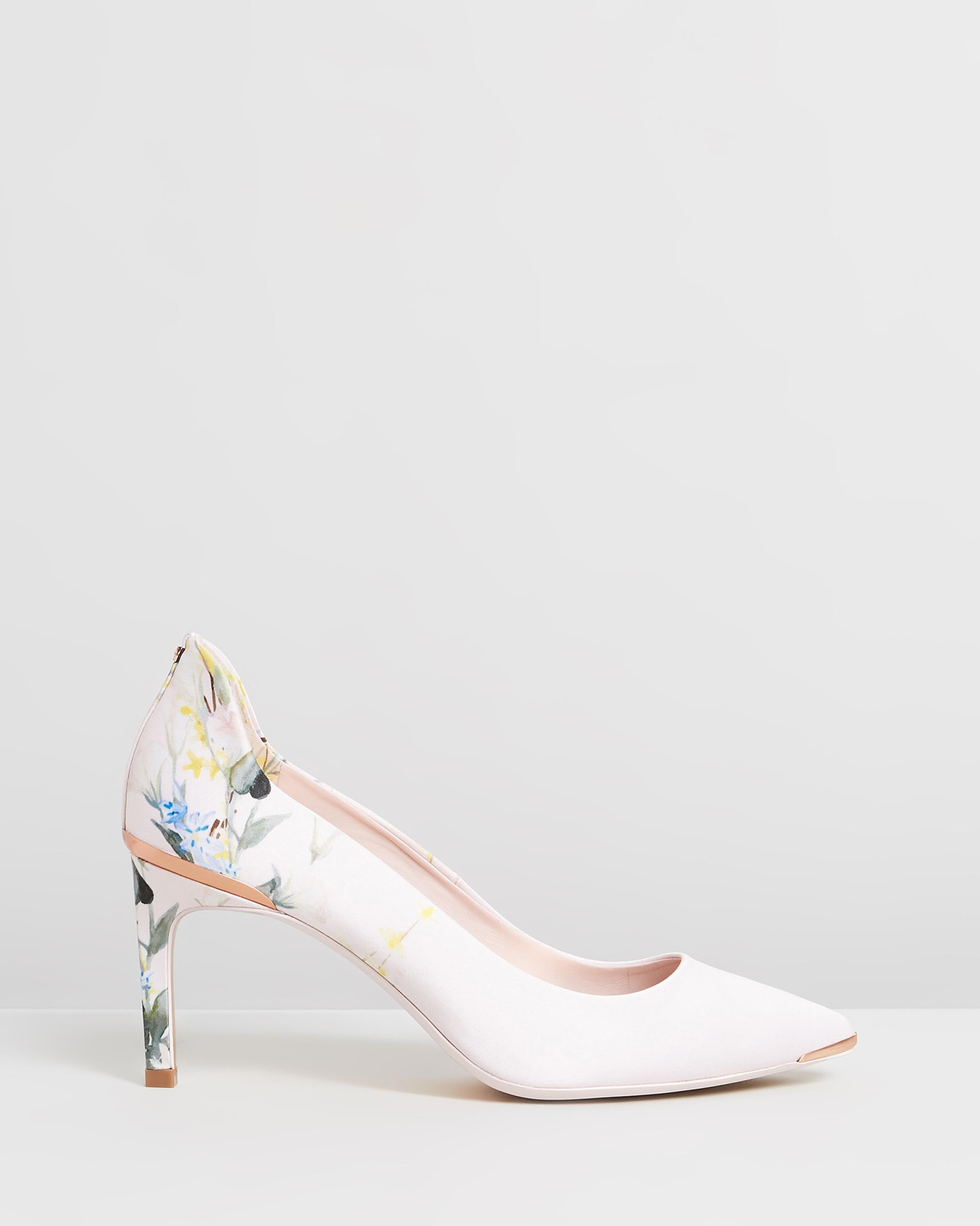Eriinp Pumps Elegant Pink Satin by Ted