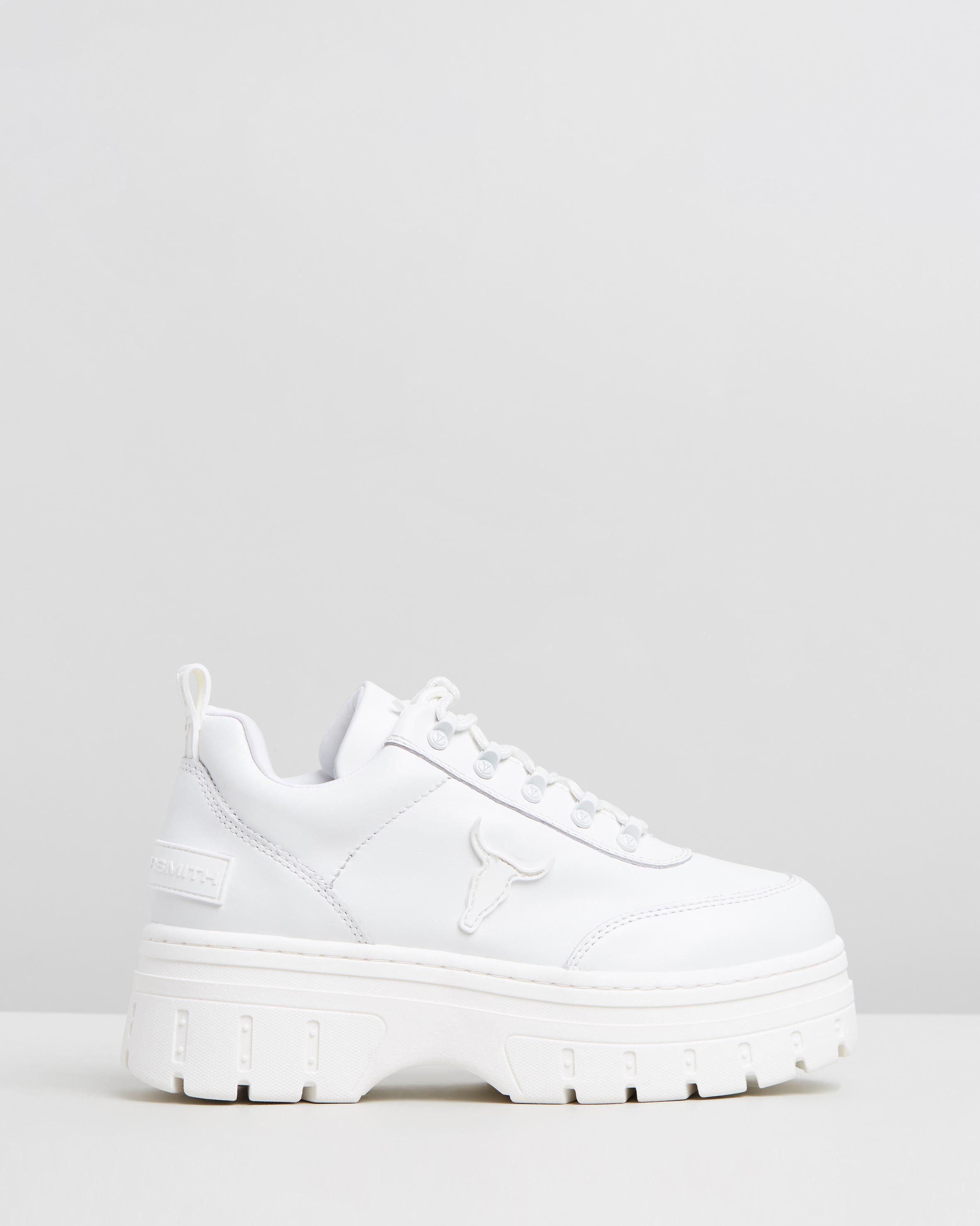 Lux White Brave Leather by Windsor