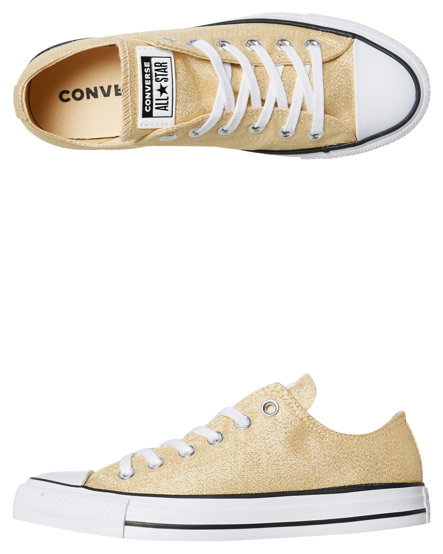 Chuck Taylor All Star Shoe Metallic Twine By CONVERSE