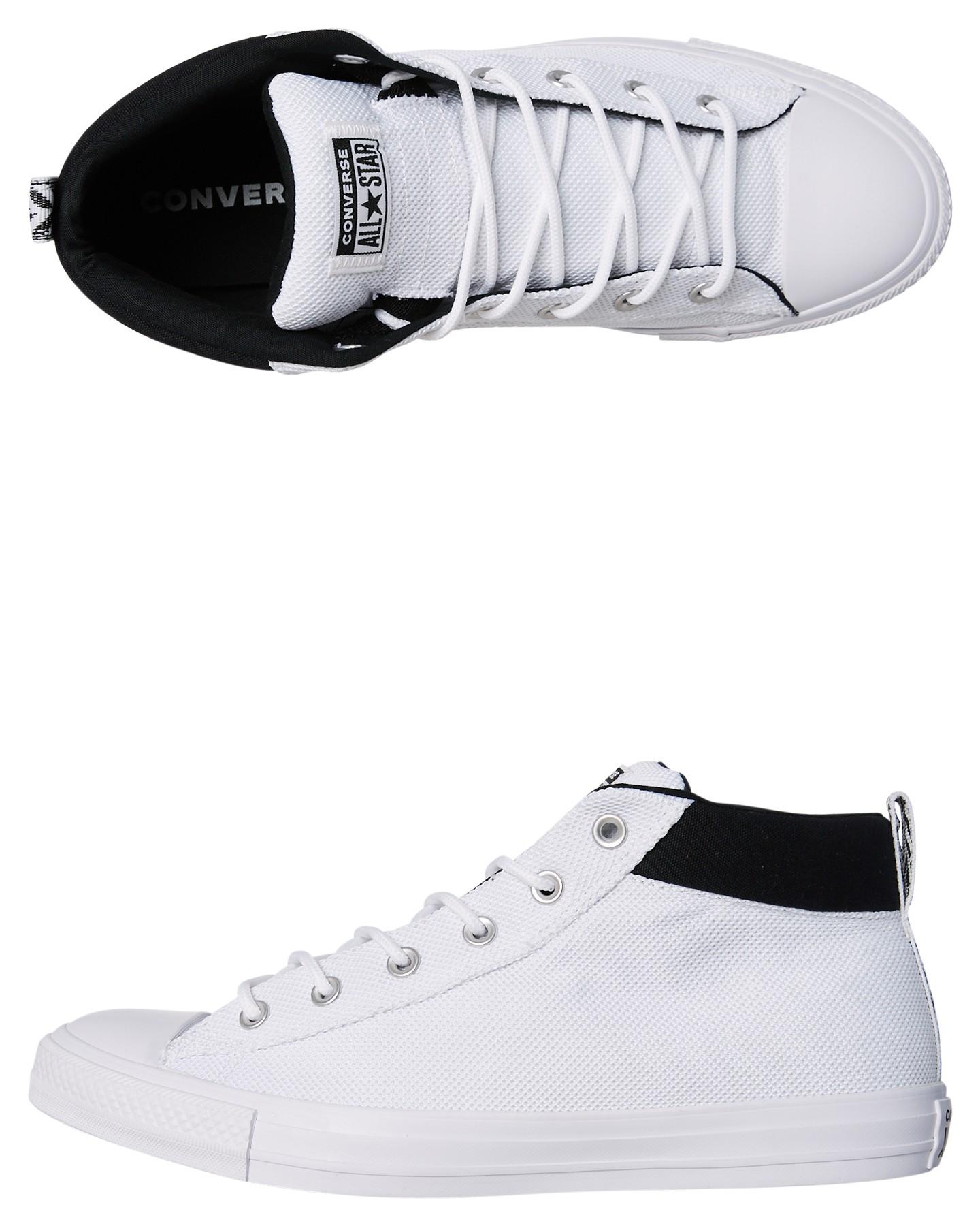 3f3c873efa7c White Black Coloured Chuck Taylor All Star Street Nylon Shoe White Black By  CONVERSE
