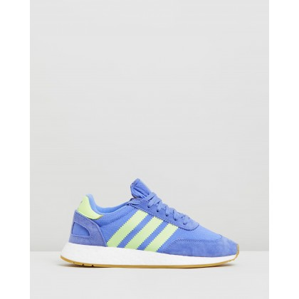 I-5923 - Women's Real Lilac, High-Res Yellow & Footwear White by Adidas Originals