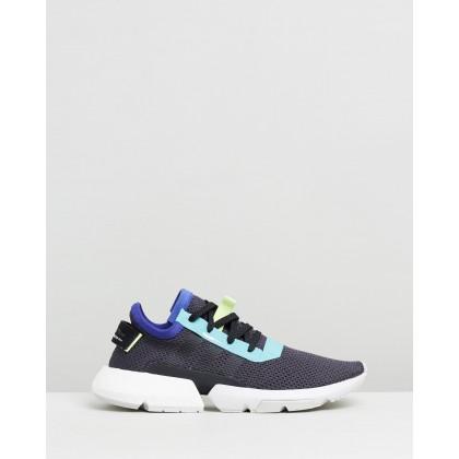 Pod-S3.1 - Unisex Carbon & Core Black by Adidas Originals
