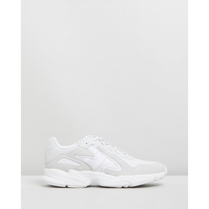 Yung-96 Chasm - Unisex Crystal White & Feather White by Adidas Originals