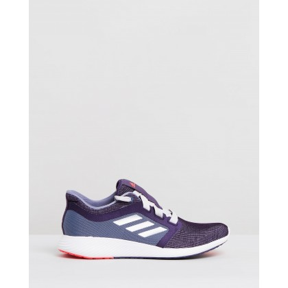Edge Lux 3 - Women's Legend Purple, Raw Indigo & Shock Red by Adidas Performance