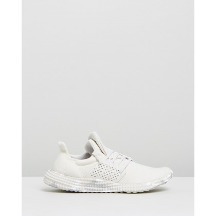 Athletics 24/7 Trainers - Women's Raw White, Hi-Res Yellow & FTWR White by Adidas Performance