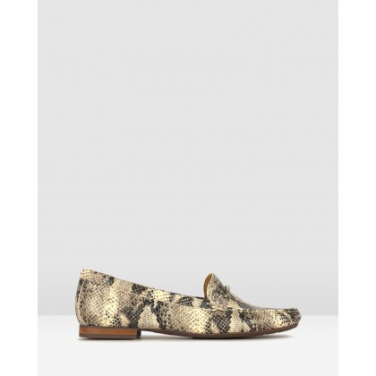 Dublin Gold Trim Loafers Snake by Airflex