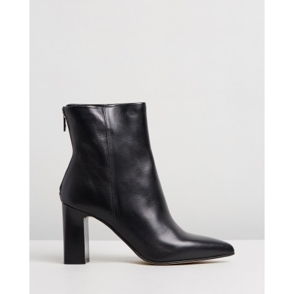 Jeronna Black Leather by Aldo