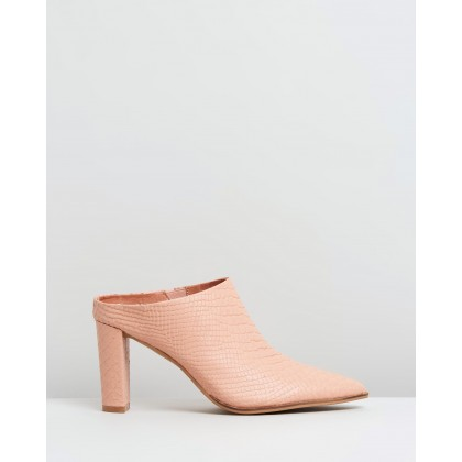Rue Blush Snake Leather by Alias Mae