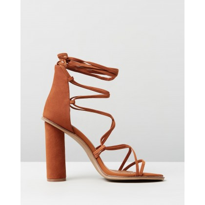 Amiyah Burnt Orange Nubuck by Alias Mae