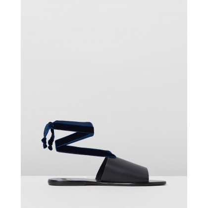 Ava Black by Alohas Sandals