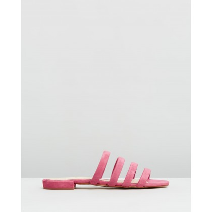 Cecile Flats Dust Pink by Alohas Sandals