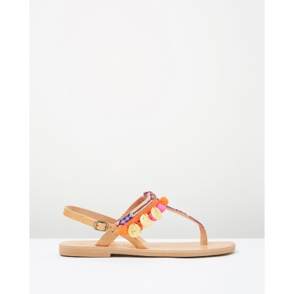 Atalanta Sandals Multi by Ammos