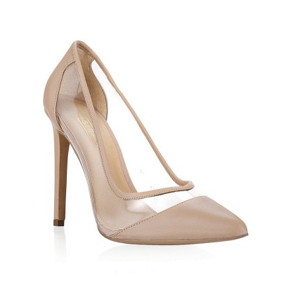 Anique - Nude Kid by Siren Shoes