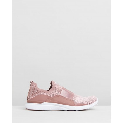 TechLoom Bliss - Women's Beachwood, Dusty Rose & White by Apl