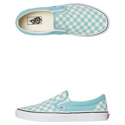 Mens Classic Slip On Shoe Aqua Haze