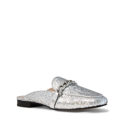 Ashton - Silver Rock Glitter by Siren Shoes