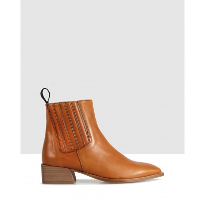 Randal Ankle Boots Brown by Beau Coops