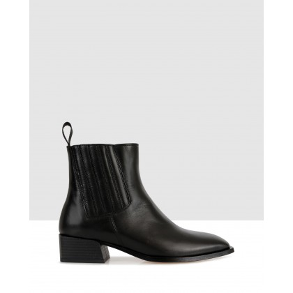 Randal Ankle Boots Black by Beau Coops