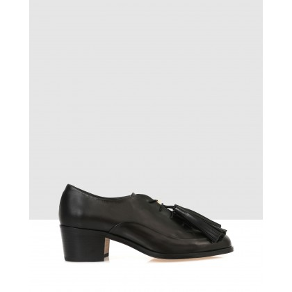 Bensley Court Shoes Black by Beau Coops