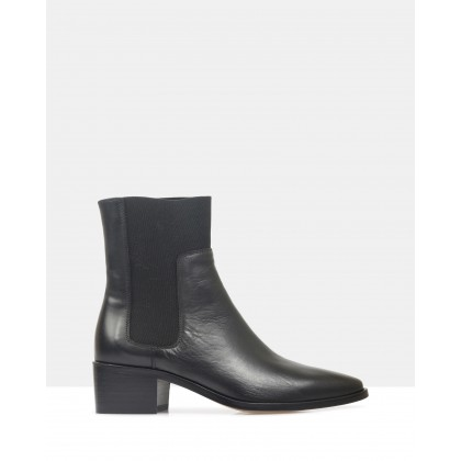 Winter Ankle Boots Black by Beau Coops
