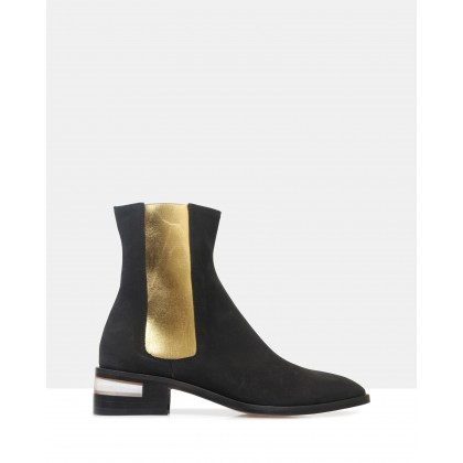 Ivy Ankle Boots Black by Beau Coops