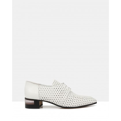Fin Lace Up White by Beau Coops