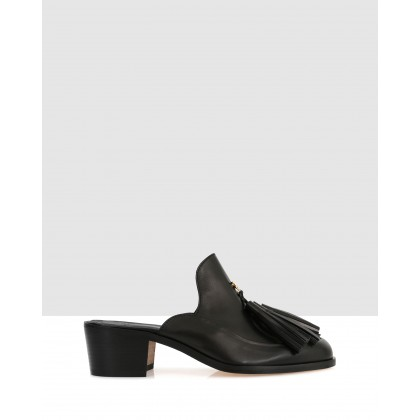 Beacher Mules Black by Beau Coops