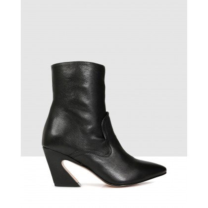 Ross Ankle Boot Black by Beau Coops