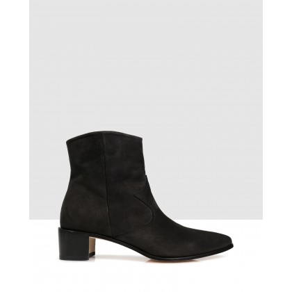 Rory Ankle Boot Black by Beau Coops