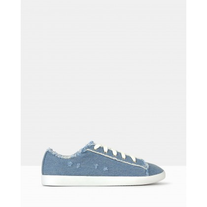 Jezz Lace Up Sneakers Denim by Betts
