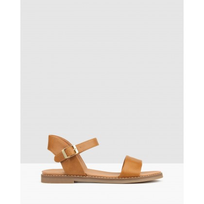 Atlas Footbed Sandals Tan by Betts