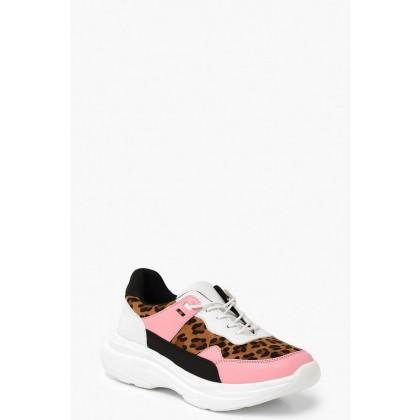 Leopard Chunky Sneakers in Leopard