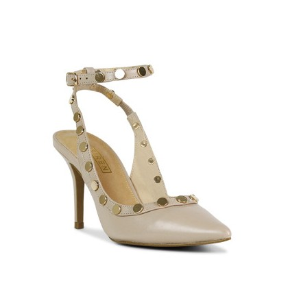Bijou - Nude Kid by Siren Shoes