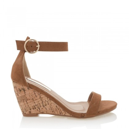 Allegra Tan Suede by Billini Shoes