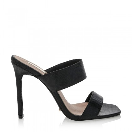Ambrosia Black Snake by Billini Shoes